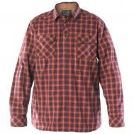 Мужская рубашка 5.11 Tactical FLANNEL SHIRT цвет Ox Blood (469)