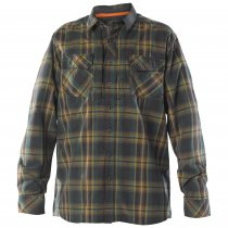 Мужская рубашка 5.11 Tactical FLANNEL SHIRT цвет Volcanic (098)