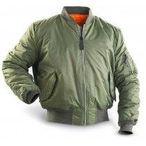 Куртка пилота MA1 олива