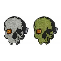 Патч 5.11 TOPO SKULL PATCH