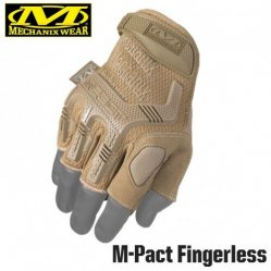 Перчатки Mechanix Tactical M-Pact Fingerless Coyote,| цвет Coyote |